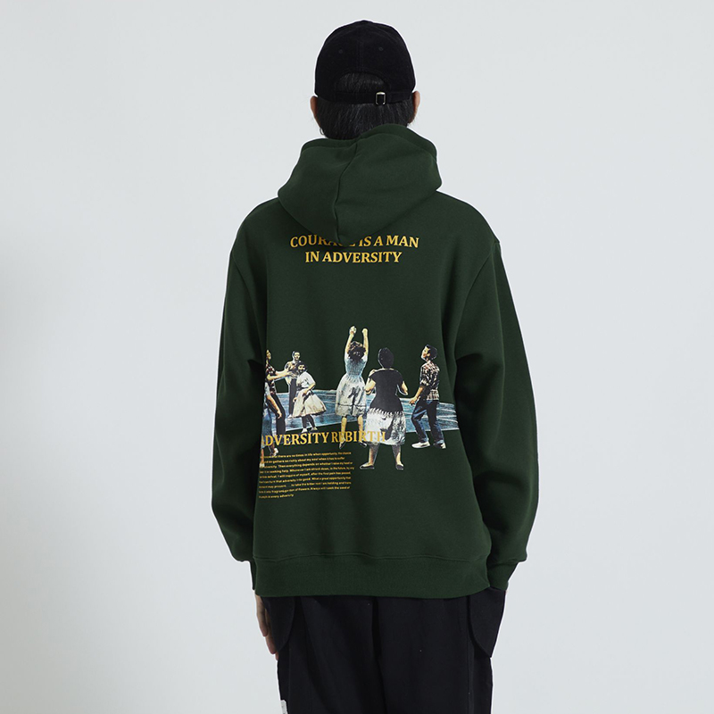 Men Hip Hop Hoodie Sweatshirt Printing Japanese Hoodie Streetwear Autumn 2019 Cotton Pullover Harajuku Retro Clothing