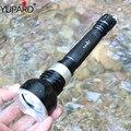 Yupard подводный дайвер фонарик XM-L2 LED T6 свет лампы Водонепроницаемый 18650 аккумуляторная батарея белого и желтого цвета свет - фото