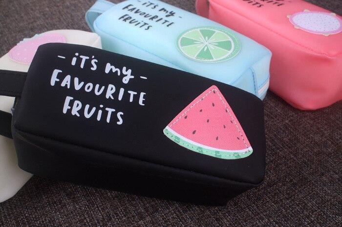 Casos fruta Dos Desenhos Animados Lápis de