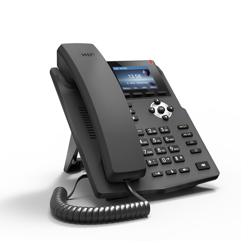 voip pbx corded telephone desk voip phone home mini telephone intercom SIP server basic phone business hotel atcom a21 poe 2 sip line entry level business ip phone dual core cpu hd voice backlight lcd desktop office voip telephone