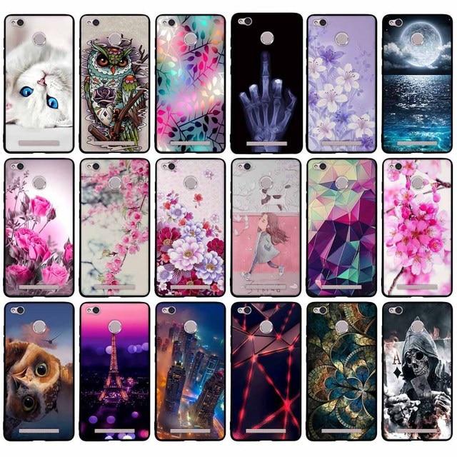 Ốp Lưng Dành Cho Xiaomi Redmi 3 S Silicone Mềm Dành Cho Xiaomi Redmi 3 S 3X 5.0 Bao Ốp Lưng dành Cho Xiaomi Redmi 3 S 3X 3 Pro Vỏ