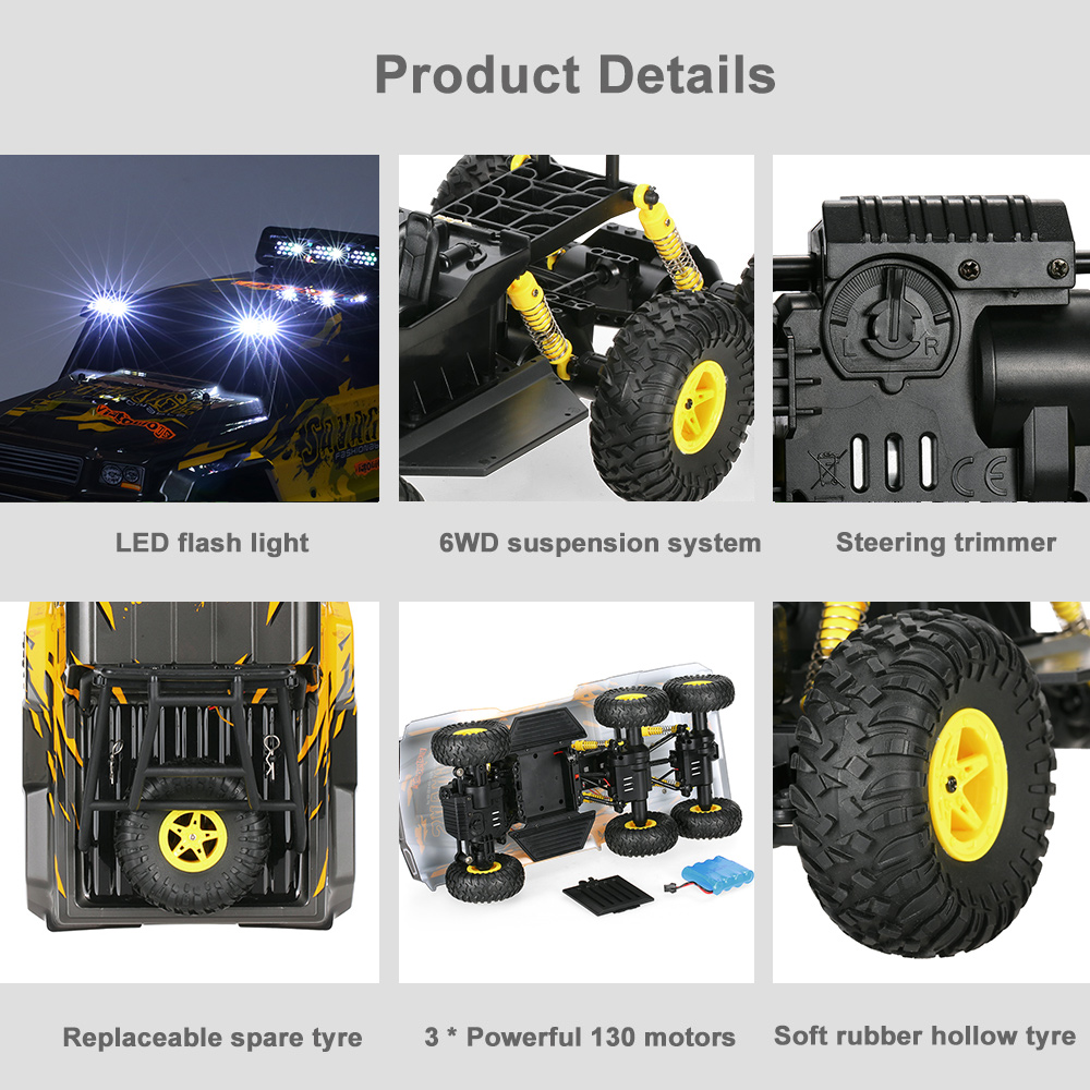 control 6WD 1:18 Buggy