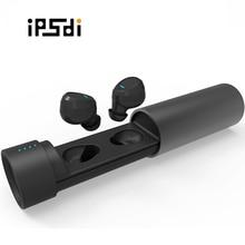 휴대 전화에 대 한 마이크와 함께 IPSDI 미니 무선 블루투스 이어폰 스포츠 무선 블루투스 이어폰 Wonstart W302
