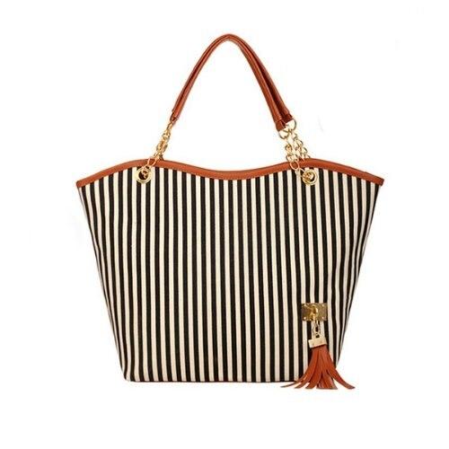 Wholesale 10pcs * sac de mode pour femmes poignée longue chaîne-noir