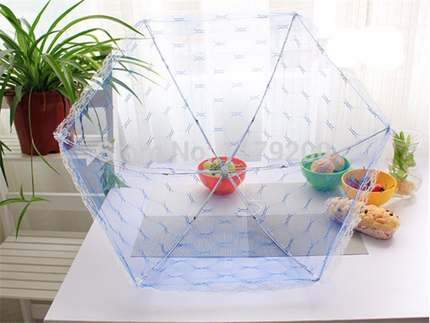 Food-Covers-Umbrella-Style-Anti-Fly-Mosquito-Kitchen-cooking-Tools-meal-cover-Hexagon-gauze-table-mesh (4)