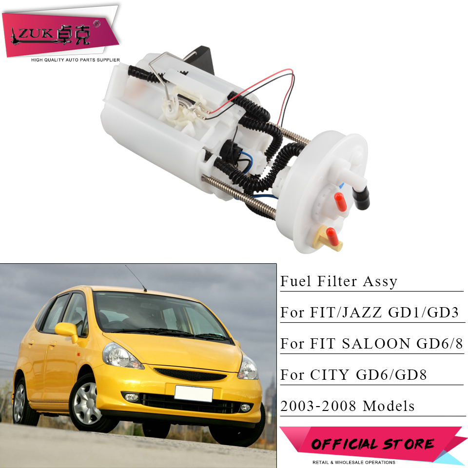 small resolution of zuk fuel filter strainer assy for honda fit jazz city 2003 2004 2005 2006 2007 2008