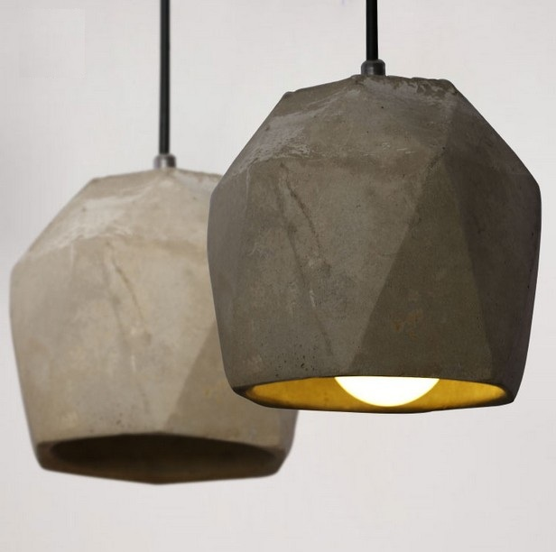 Loft Style Creative Cement Droplight LED Vintage Pendant Light Fixtures For Dining Room Hanging Lamp Indoor Lighting Lamparas loft style iron vintage pendant light fixtures edison industrial lamp dining room bar diy hanging droplight indoor lighting