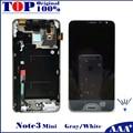 Para samsung galaxy note 3 neo mini lite n7505 substituição lcd screen display digitador touch com frame 100% testado trabalho