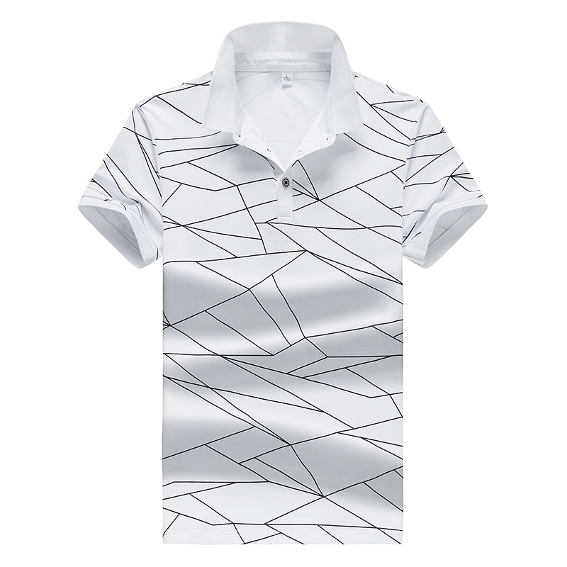 Striped Solid Color Men's   POLO   Shirt Casual Brand   Polo   Men's Shirt High Quality Short Sleeve Anti-Pilling Shirt;YA213