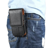 Vetical Horizontal Man Belt Clip Mobile Phone Cases Pouch Outdoor Bags For Xiaomi Redmi Note 4