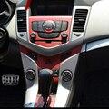 Автомобиль Центральной Консоли Углеродного Волокна Наклейки Для Chevrolet Cruze AT И MT Автомобильные Аксессуары Стайлинга Автомобилей