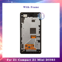 10Pcs/lot High Quality For Sony Xperia Z1 Compact Z1 Mini M51W D5503 LCD Display Screen With Touch Screen Digitizer Assembly