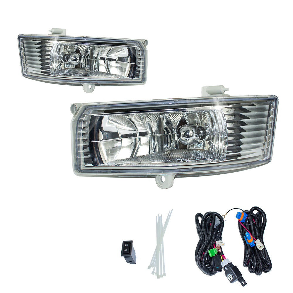 Fog light for TOYOTA CAMRY 2005 2006 fog lamps Clear Lens Bumper Fog Lights Driving Lamps / Daytime Running light YC100905-CL цена