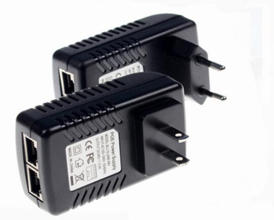 CCTV Security power adaptor DC15V 2A POE Wall Plug POE Injector Ethernet Adapter IP Camera Phone PoE Power Supply EU Plug
