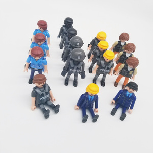 Image 4 - Playmobil 7cm  Police Navy Army Military  Action Figures  Model Moc Toys Gift For Kids  Random Style For Sale  X046