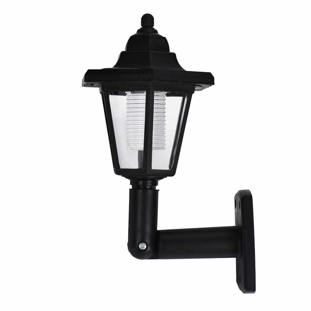 Solar Power LED Light Path Way Wall Landscape Mount Garden Fence Lamp Outdoor rave festival home decoration room accessories