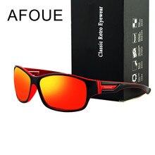 купить AFOUE 2019 BRAND DESIGN Polarized Sunglasses Men Women Driving Male Sun Glasses Fishing Sport Style Eyewear UV400 Gafas De Sol дешево