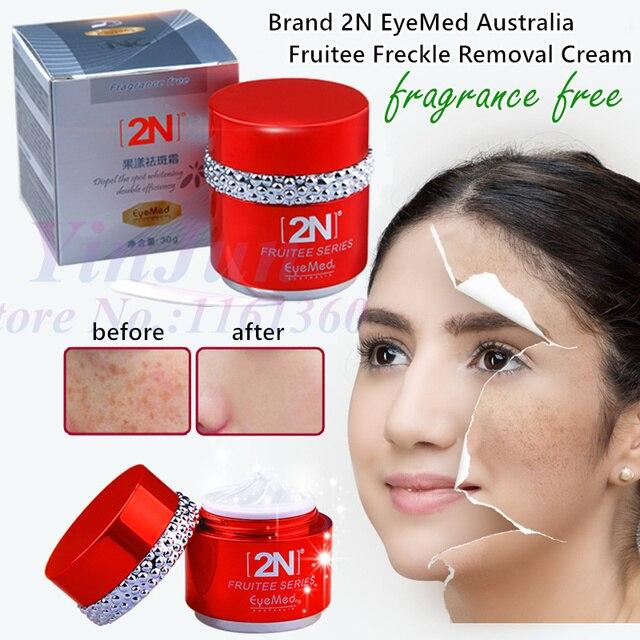 Marca eyemed 2n fruitee dissipar mancha escura creme de clareamento dia sardas creme de noite freckle remoção do pigmento melanina facial anti-idade creme