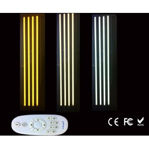 18w 2.4g Led T8 Tube Light With Rf Remote Controller Wireless Smart Dimmable Color Temperature And Brightness 2800k-6500k Adjust Numerous In Variety Led Bulbs & Tubes