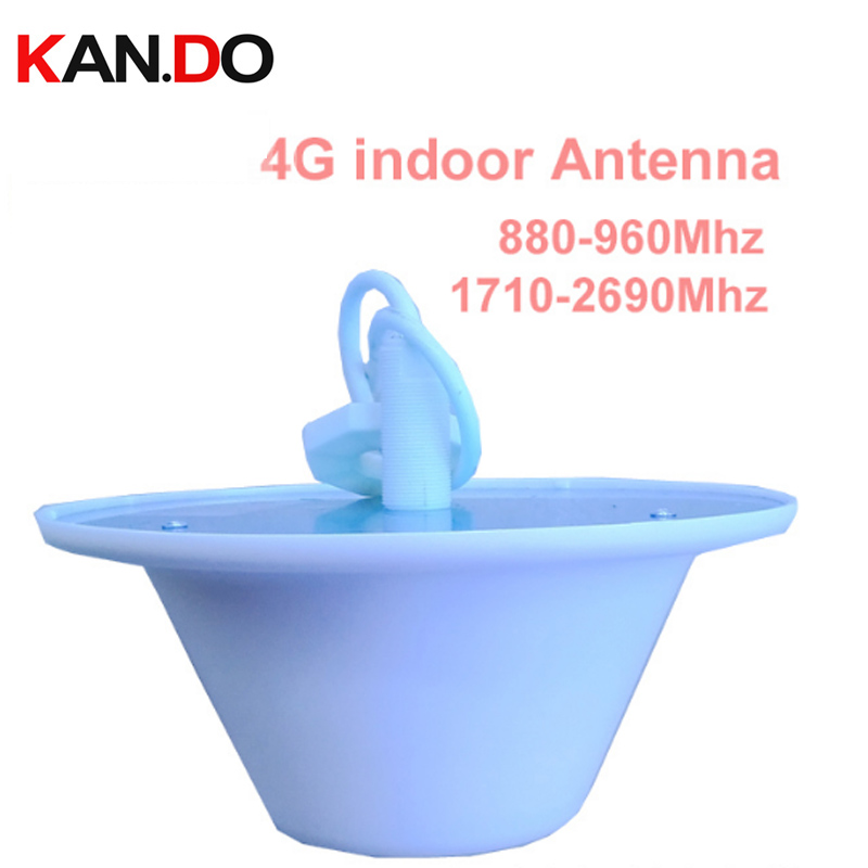 repeater use LTE 4G antenna indoor 880-2690Mhz GSM CDMA WCDMA booster 4G omni antenna for repeaters LTE FDD ceiling