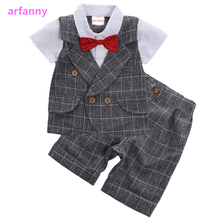 Baby Clothes Boys suits for wedding Kids British Wind Birthday Dress Boygentleman suit Children clothing disfraz blazer pants