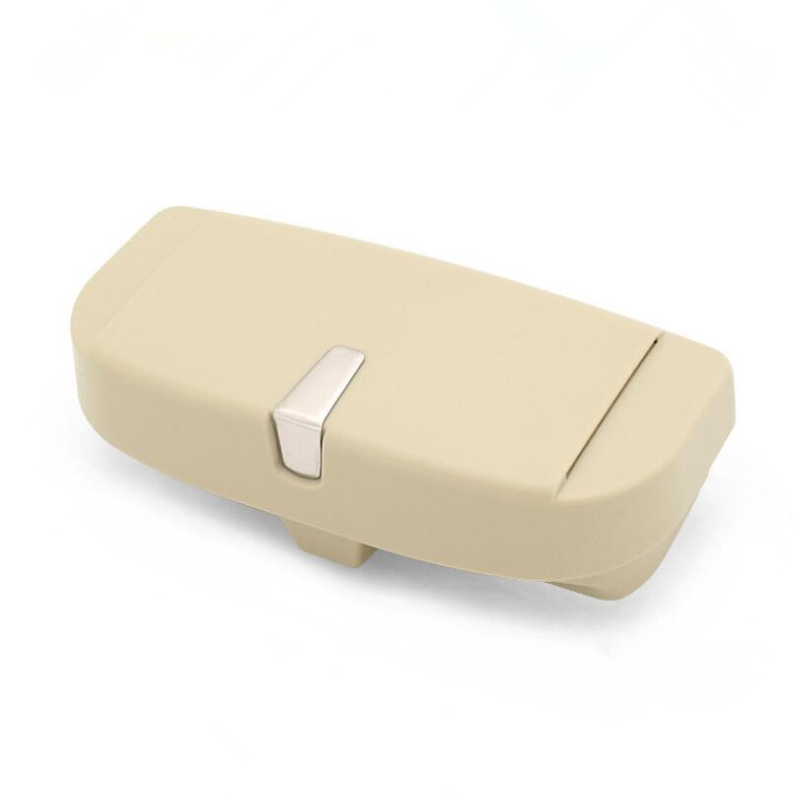 Car Front sun glasses case box Auto decoration For Skoda Octavia A2 A5 A7 Fabia Rapid Superb Yeti Roomster Car styling