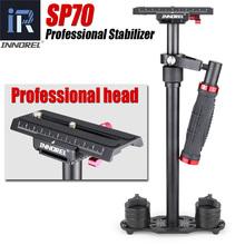 SP70 Handheld Steadicam DSLR aparat Stabilizator wideo Steadycam kamery stały cam Glidecam Filmmaking lepiej niż S60 S60 + tanie tanio W INNOREL Stop aluminium 1 55 kg (z ciężarkami) 3 0 kg 37cm 59cm 200g * 2 100g * 4