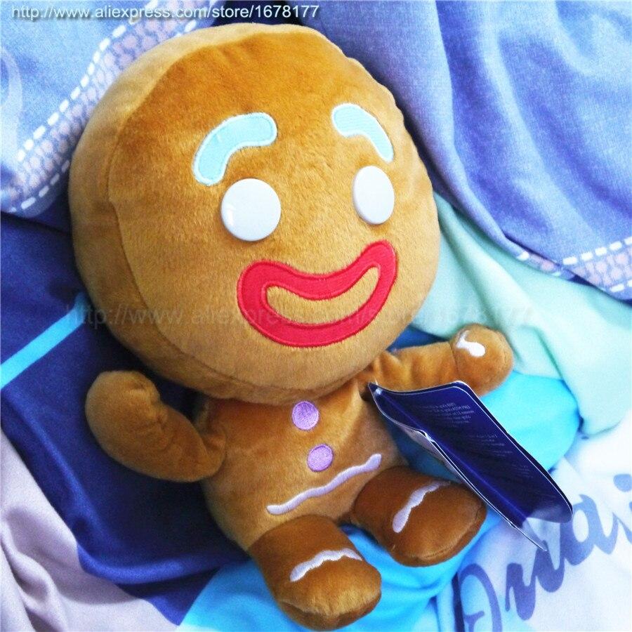 Tienda Online Venta caliente 25 cm pelucia Shrek Gingerbread man ...