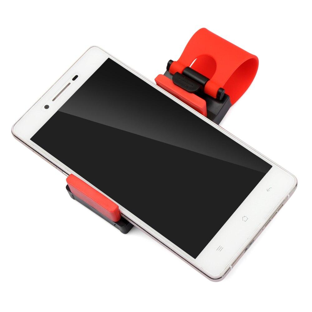 Car Steering Wheel Mobile Phone Holder For Ford Focus KIA RIO Hyundai IX35 Solaris I30 HB20 Mitsubishi ASX RAR Outlander Pajero
