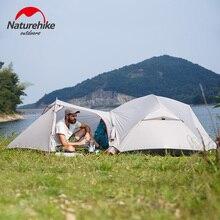 Naturehike Новый Mongar 2 человек Сверхлегкий силиконовые палатка открытый Best пеший Туризм Охота Альпинизм лагерь