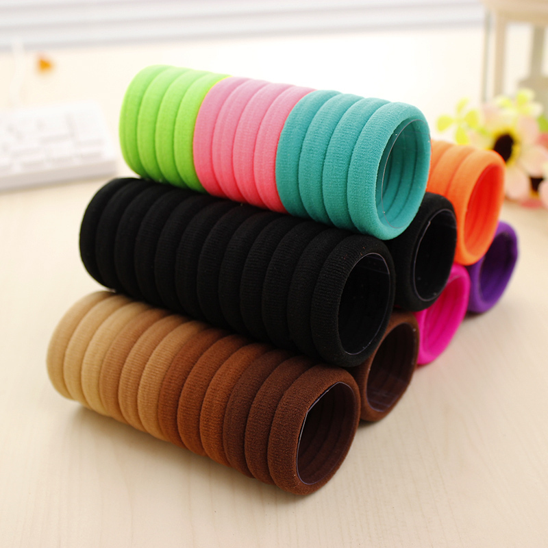 4 Different Packing 24pc/bag Elastic Hairs