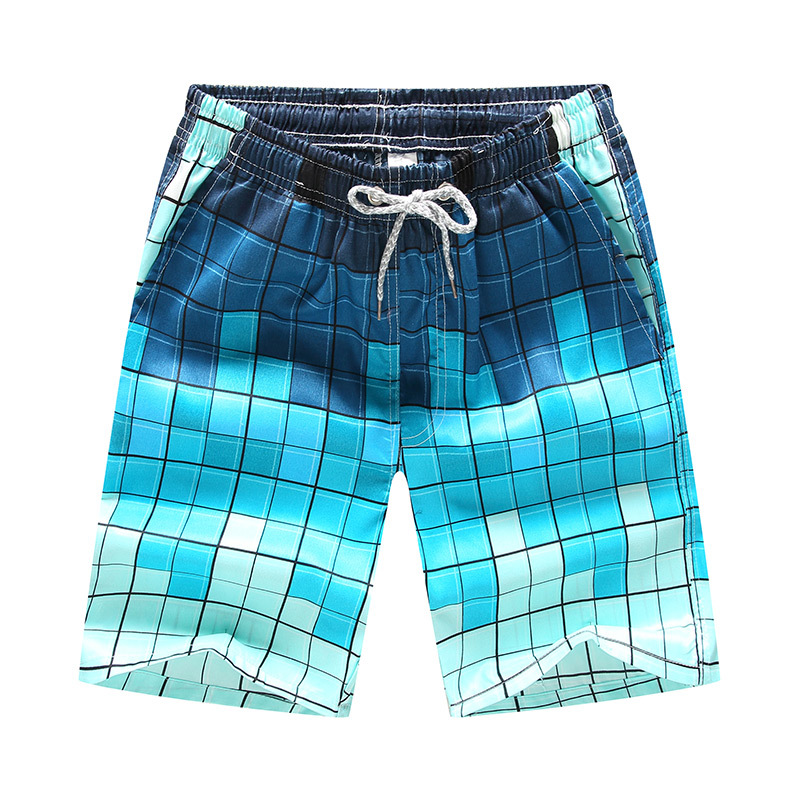 Men Printed Beach Shorts Quick Dry Running Shorts Swimwear Swimsuit Swim Trunks Beachwear Sports Shorts Board Shorts Plus Size drawstring plus size sweat shorts