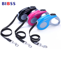 ABS Walking Running Pet Automatic Traction Leash Easy Gripping 3M 5M Retractable Pulling Dog Lead Leash