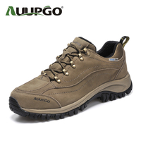 Men Climbing Shoes Women Waterproof Outdoor Hiking Shoes High Quality Layer Of Matte Leather Shoes B2592