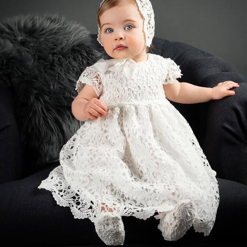 New Style Baptist Party Dress Baby Girl Wedding Dress Baby Birthday Party Baby Birthday Party First Party Long Dress