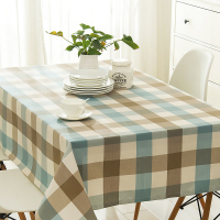 Nordic Coffee Table Waterproof Tablecloth Lattice 120 120 Cm