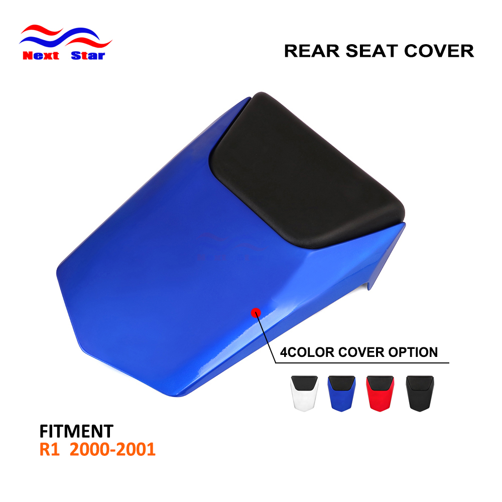Motorcycle Multi Color ABS Plastic Rear <font><b>Seat</b></font> Cover Cowl <font><b>For</b></font> <font><b>YAMAHA</b></font> <font><b>R1</b></font> R 1 <font><b>2000</b></font> 2001 image