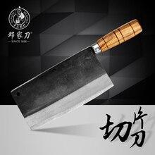 Freies Verschiffen Deng Messer Handgemacht Professionelle Kochmesser Küchenmesser Scheibe Fleisch Gemüse Multifunktionale Messer Geschmiedete Messer