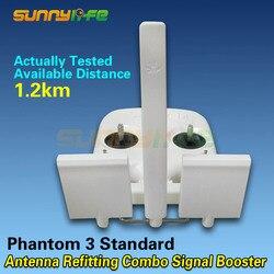 Antenna Refitting Long Range Antenna Booster Refitting Combo White for DJI Phantom 3S/3SE