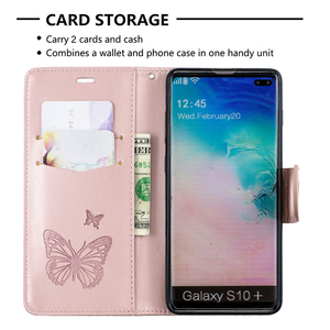 Image 4 - PU Leather Case For Samsung Galaxy A10 A20 A30 A40 A50 A70 A10E A20E Note 10 Plus S10 S9 Plus M10 M20 M30 Flip Wallet Case Coque