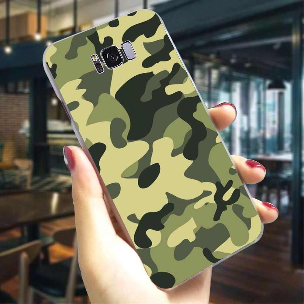 Camouflage Hunter Military Hard Cover for Samsung Galaxy A6 2018 A7 2017 A8 Plus A9 A10 A20 A30 A40 A50 A70 A3 2015 A5 2016