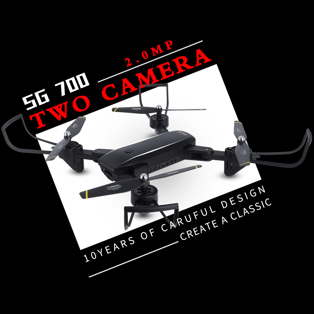 SG700 RC Drone Selfie Drones With Camera Wifi FPV Quadcopter Optical Follow Helicopter RC Toy For Children Vs Visuo Xs809hw 19HW