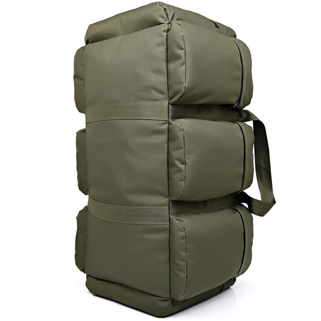 90L Large Capacity Men s Military Tactics Backpack Multifunction Waterproof  Oxford Hike Camp Backpacks Wear-resisting 7cc3ce8ea3ce4