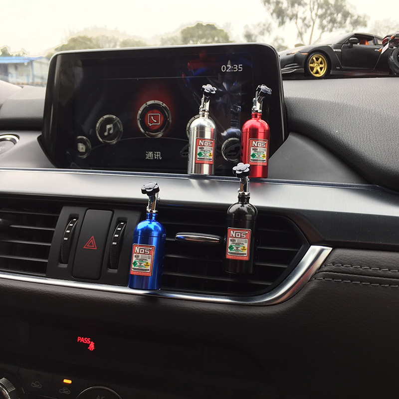 Erggu Voiture Solide Parfum Éponges Recharge Désodorisant Outlet Turbo NOS Parfum Clip Auto Aromathérapie Dissiper Odeur particulière