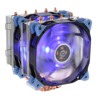 VTG 5 Heatpipe Radiator 4pin CPU Cooler Fan Cooling 5 Direct Contact Heatpipes With 120mm Fan