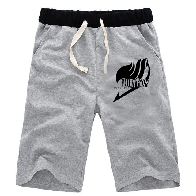 Fairy Tail Casual Shorts Men Beach Print Short Pant