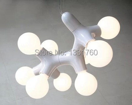 9 Heads Buro Fur Form for Next Design DNA pendant lamp  light Molecular Chain DNA Triple Chandelier dinning  room pendant light praveen kumar jaiswal and basdeo kushwaha molecular characterization of major ribosomal dna in clarias batrachus