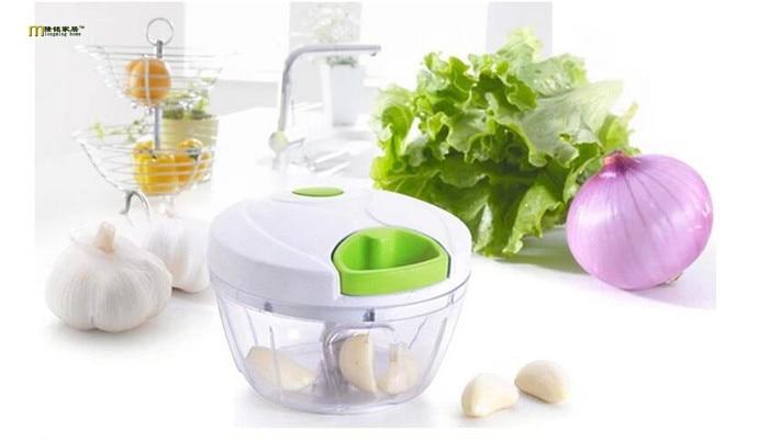 1PC Hand Chopper Manual Rope Food Processor Silcer Shredder Salad Maker Kitchen Accessories Fruit Vegetable Tools OK 0303