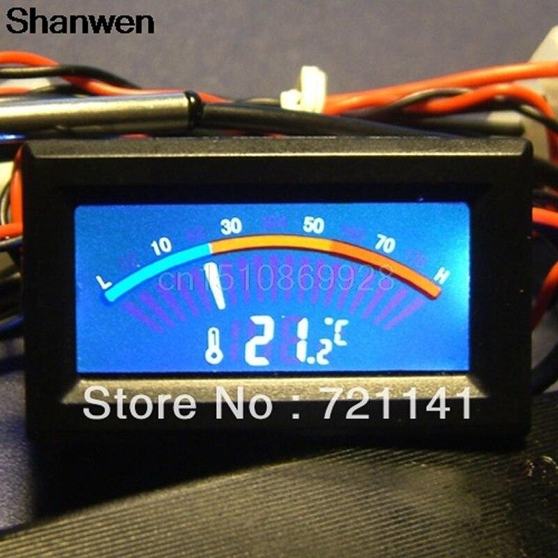 Цифровой термометр Температура метр колеи C/F ПК MOD
