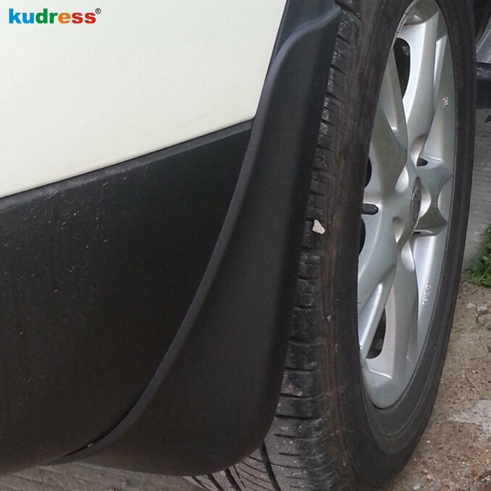 For Nissan Qashqai 2014 2015 4PCS Mud Flaps Guard tyres Fenders Splash Flaps auto accessories Dirt